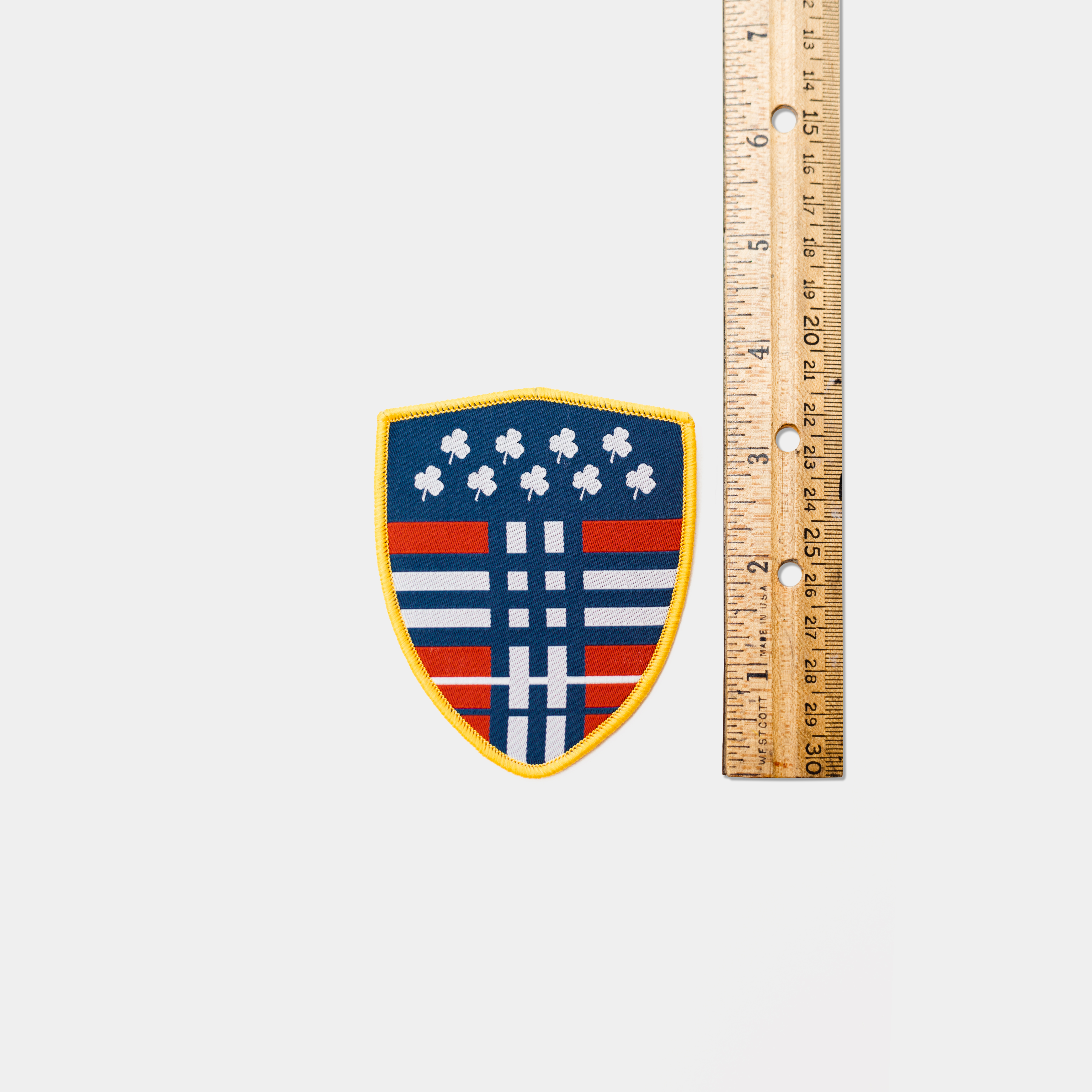 Tartan Shield Patch