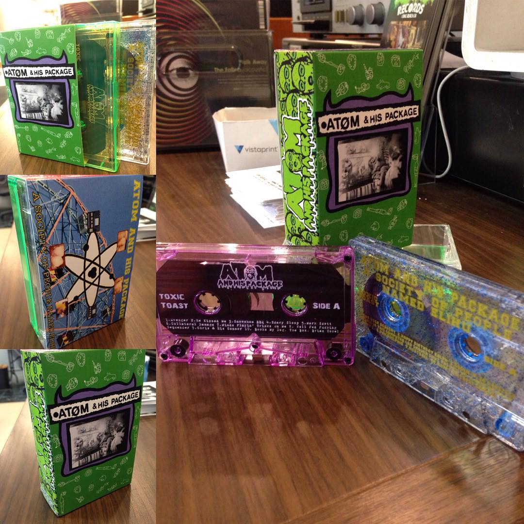 Atom and His Package - 2 Album Box Set TAPE