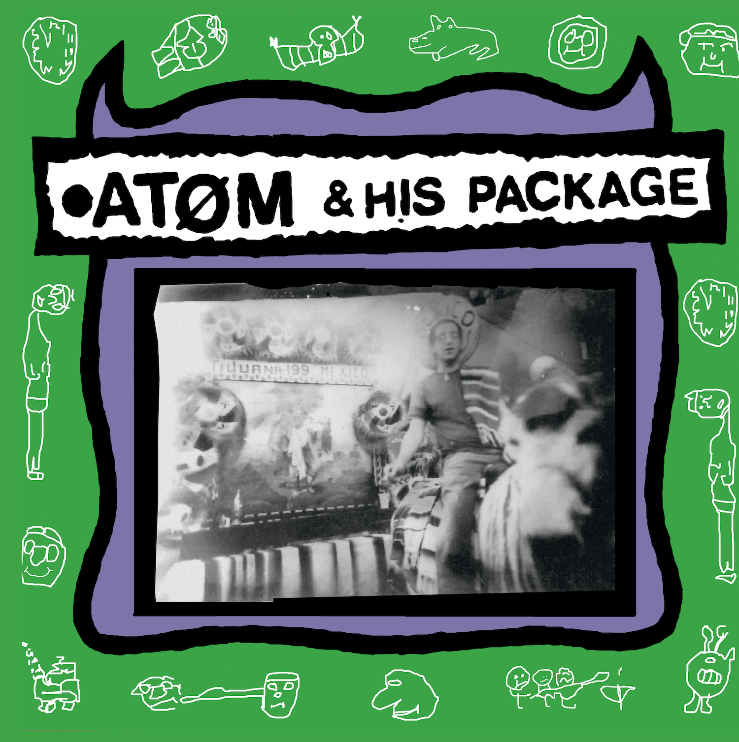 Atom and his Package - S/T LP