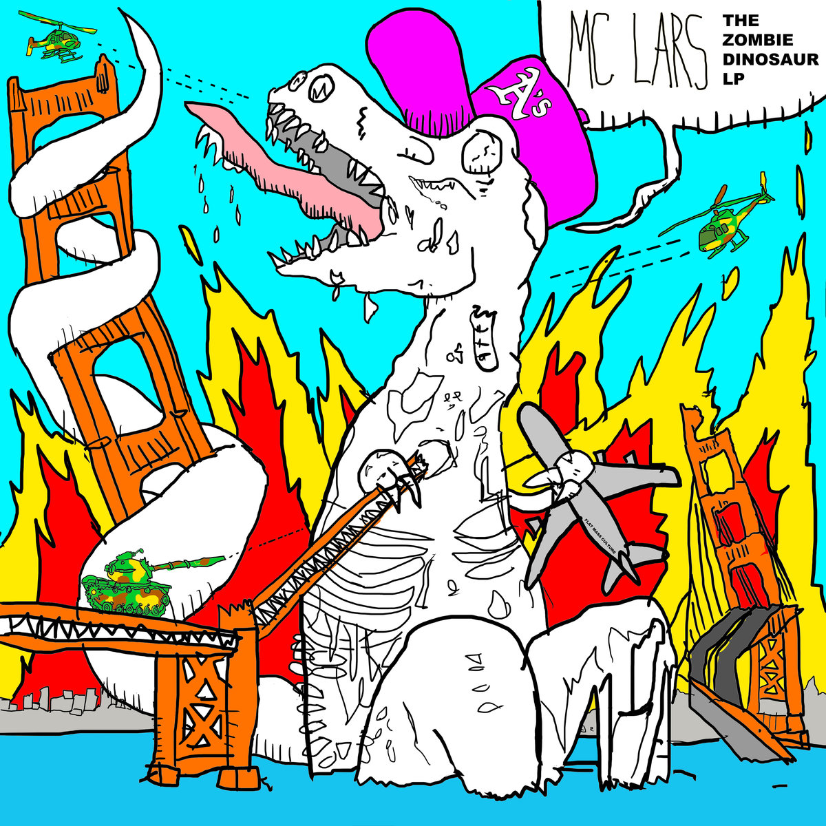 MC Lars - The Zombie Dinosaur LP