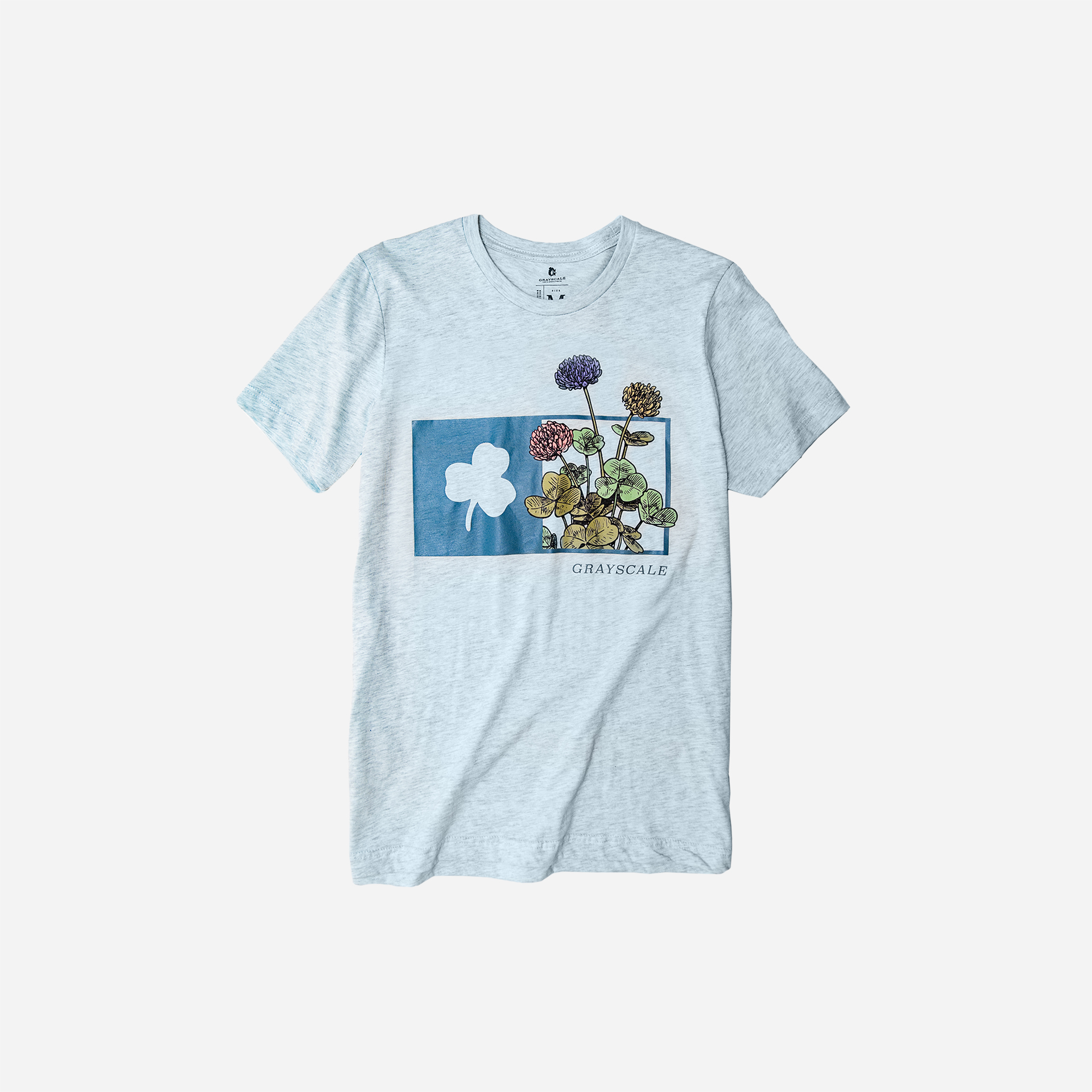 Aquamarine Mayflower Tee