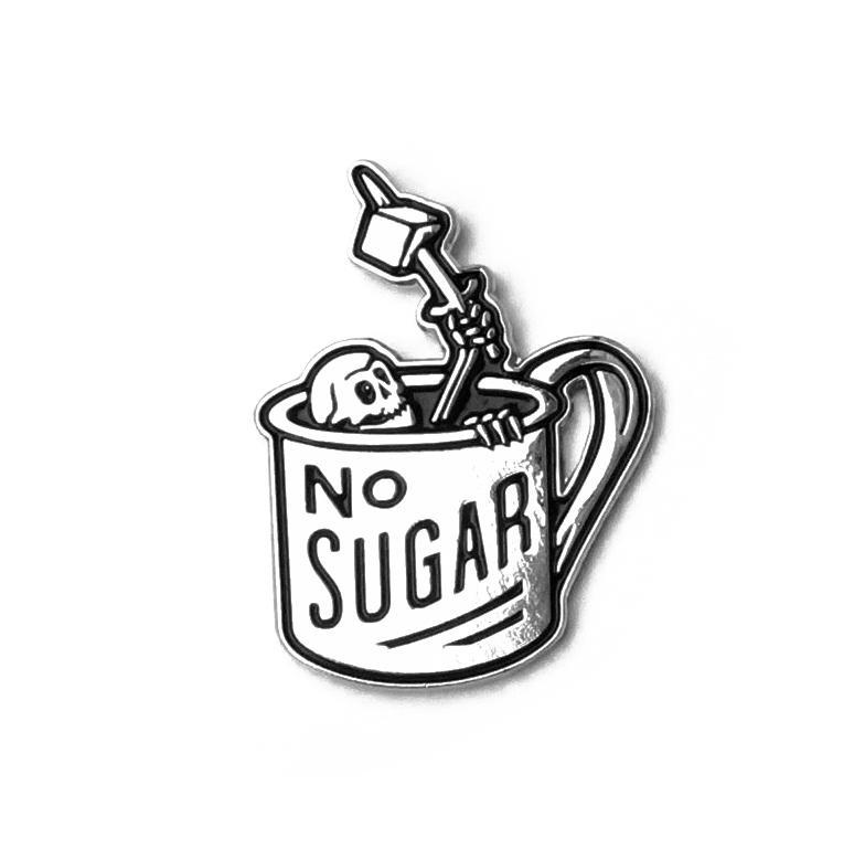 Broke and Stoked - Pin No Sugar