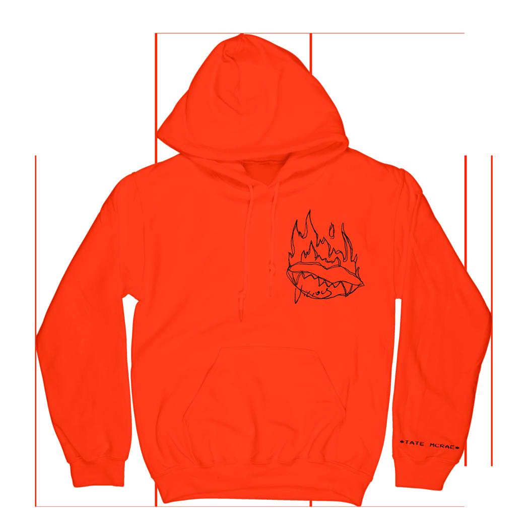 Vicious Hoodie - Orange