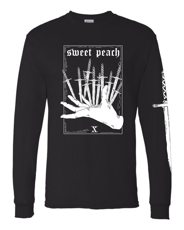 Sweet Peach TEN OF SWORDS Long-Sleeve