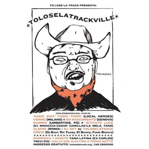 Toloselatrackville 2011 poster