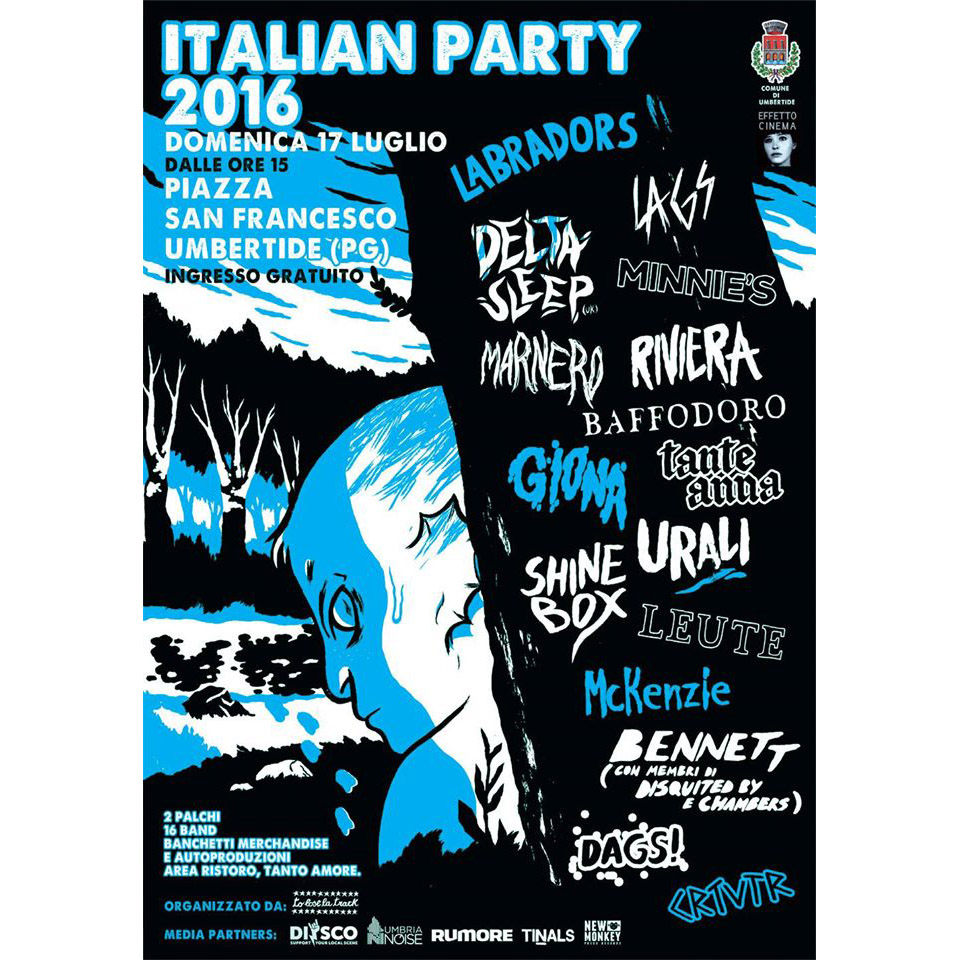 Italian Party 2016 poster