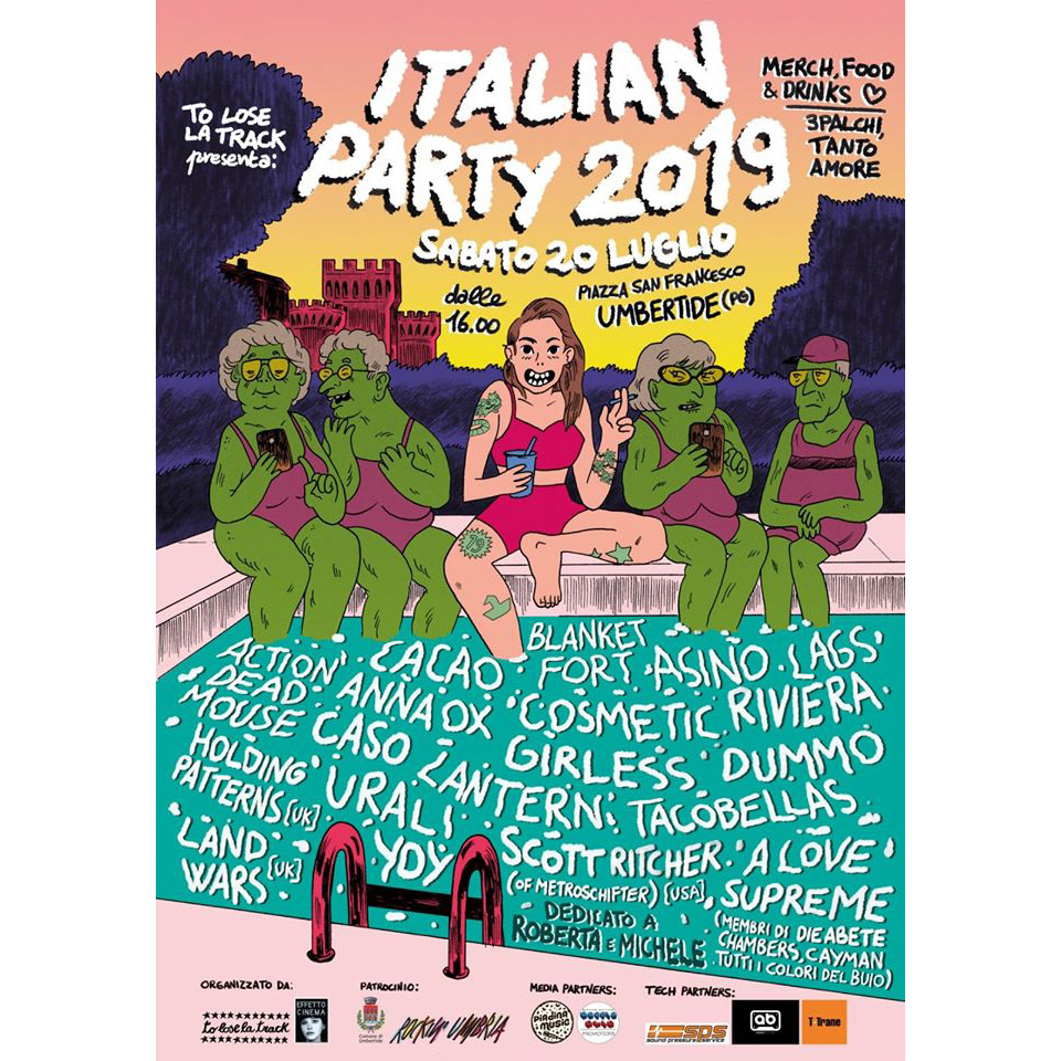 Italian Party 2019 poster