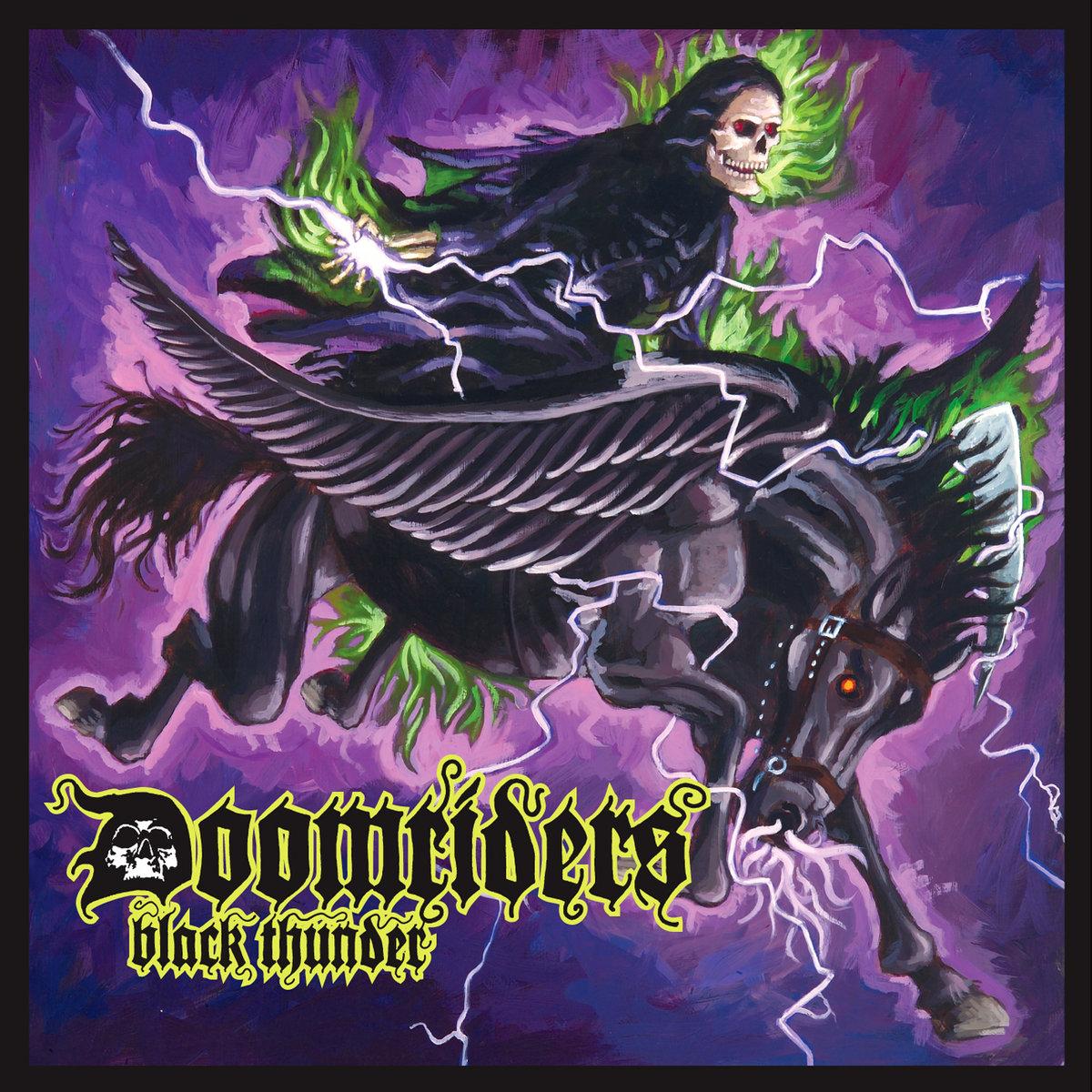 Doomriders - Black Thunder LP