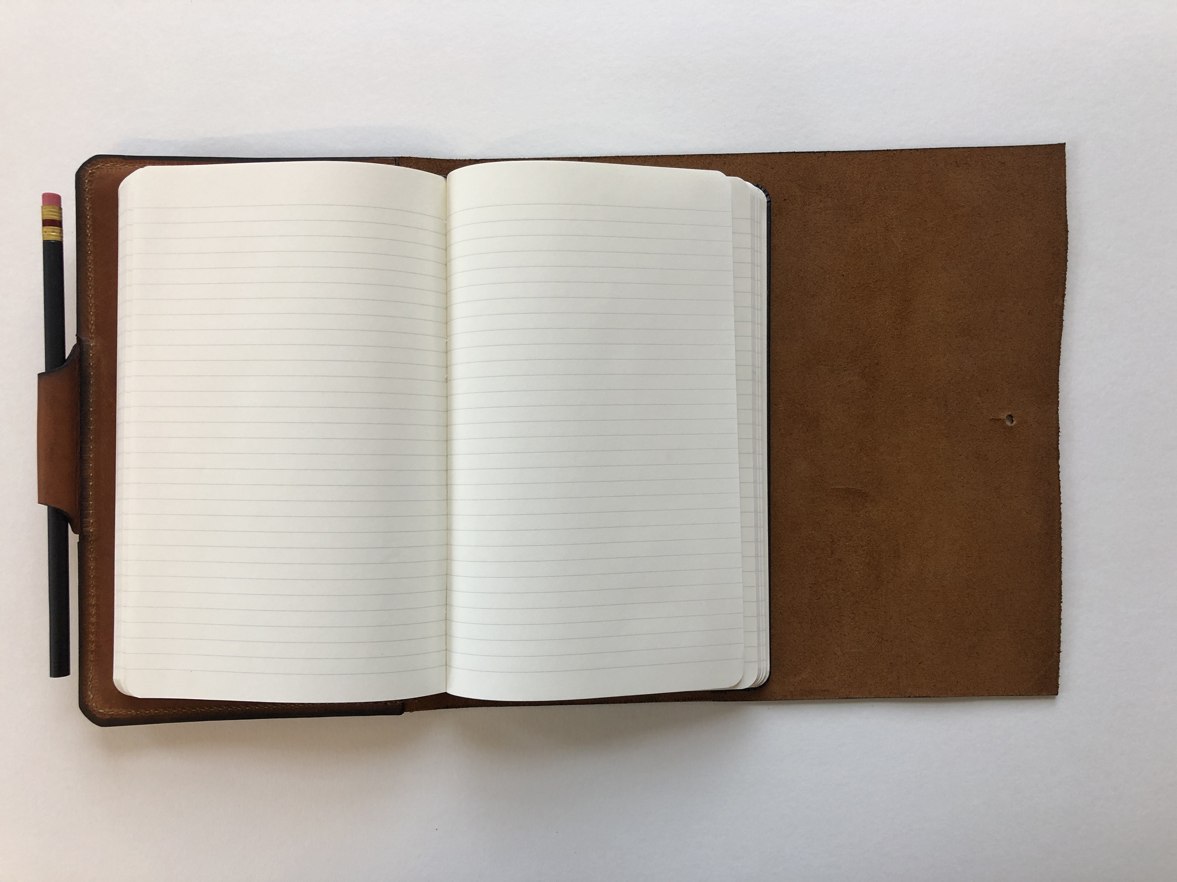 Tactile Craftworks leather journal, signed with personal note + vinyl/CD/album download (optional)