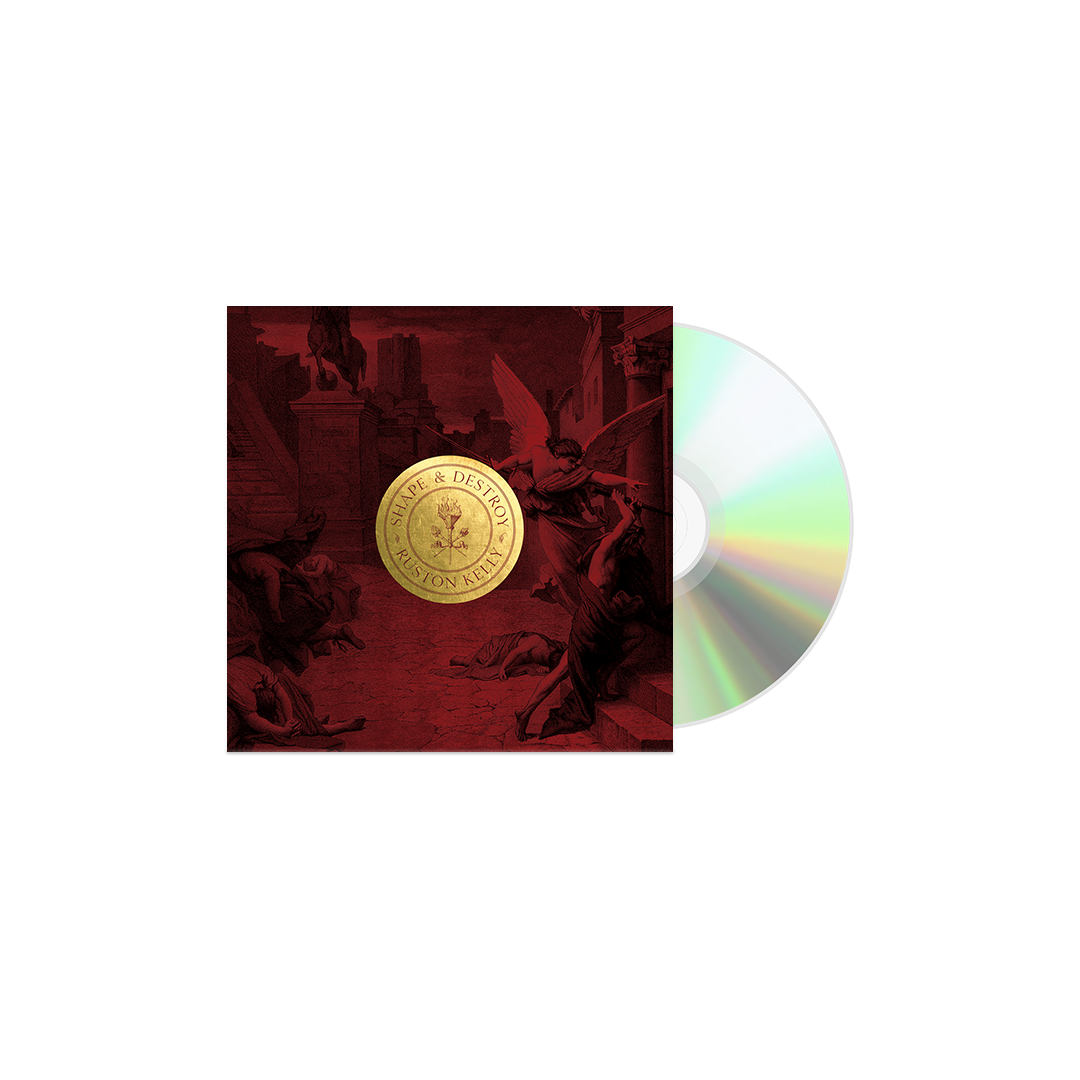 Shape & Destroy vinyl turntable mat + vinyl (optional)
