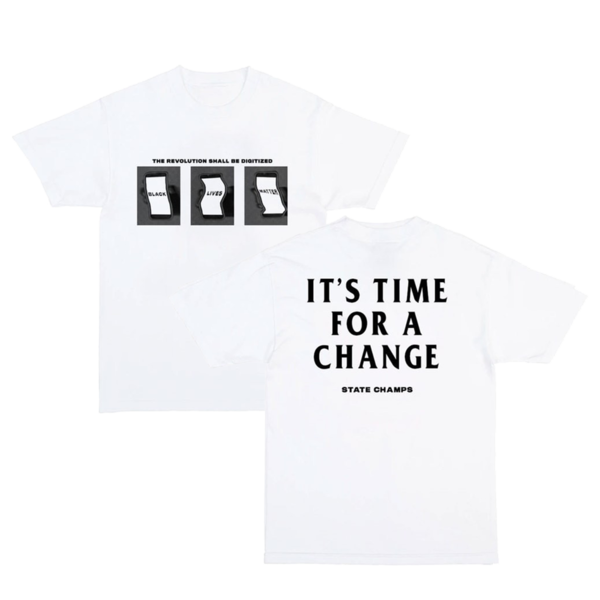 Time for Change Charity Tee