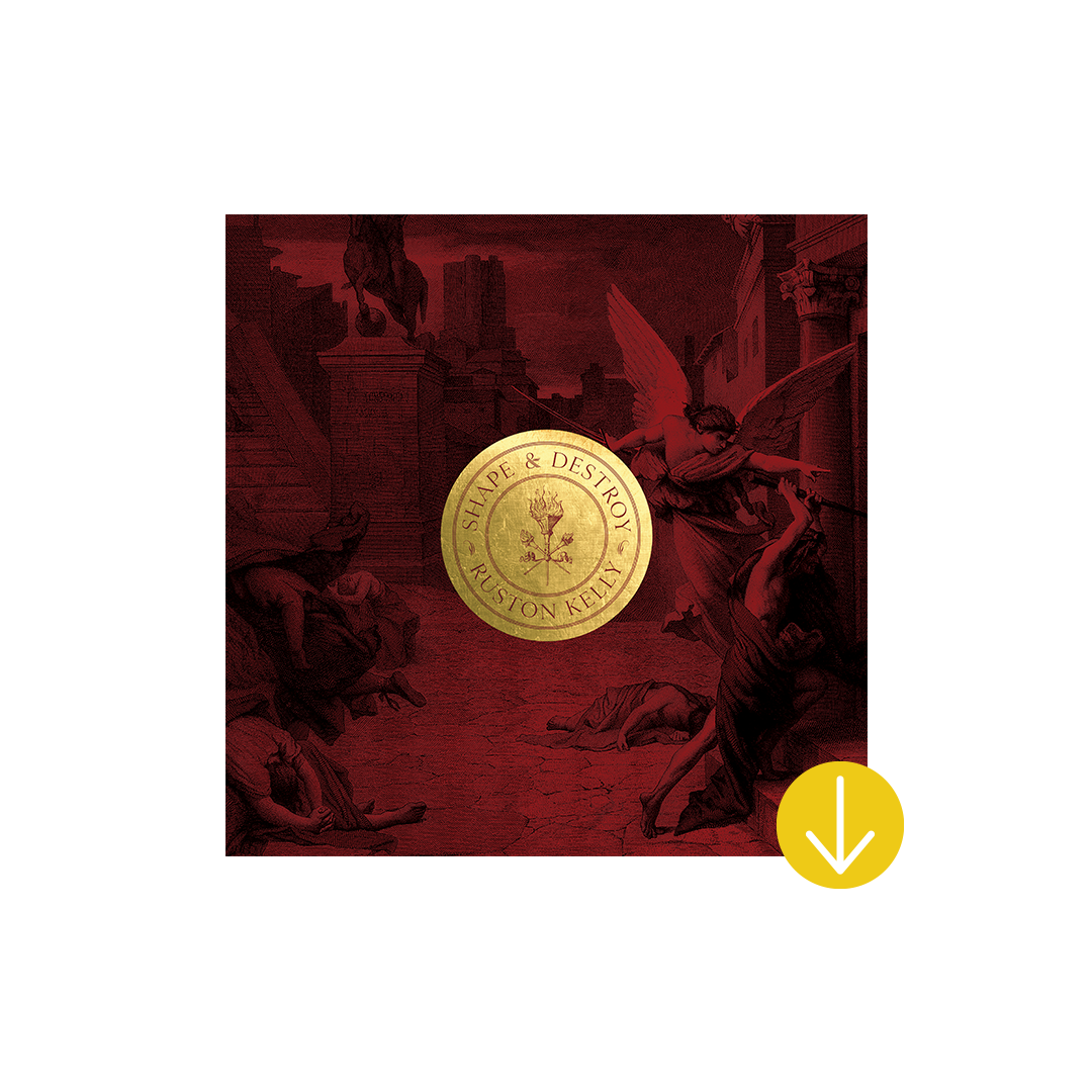 Signed Shape & Destroy Art Proof  + album download (limit of fifteen)