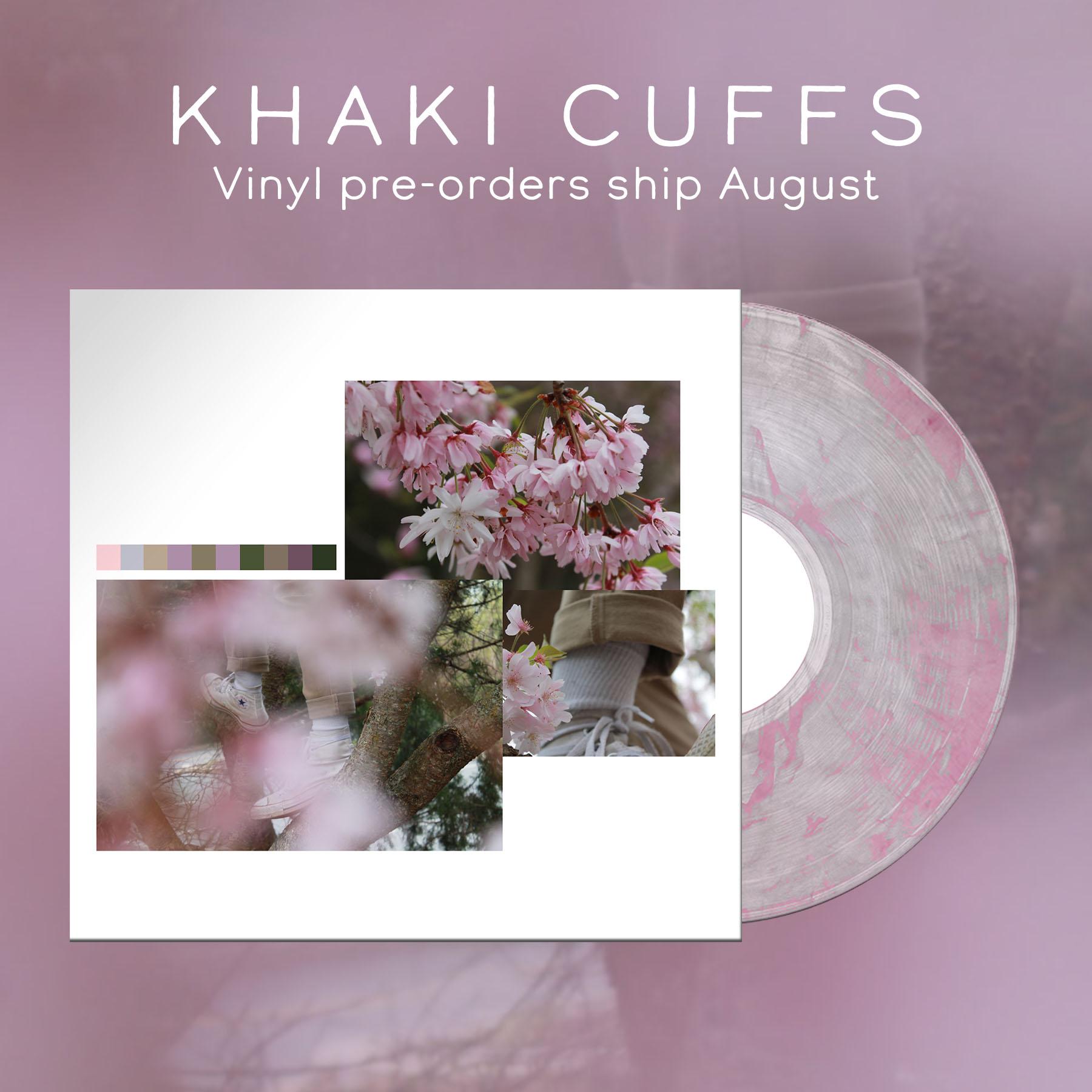 Khaki Cuffs - S/T (VINYL)