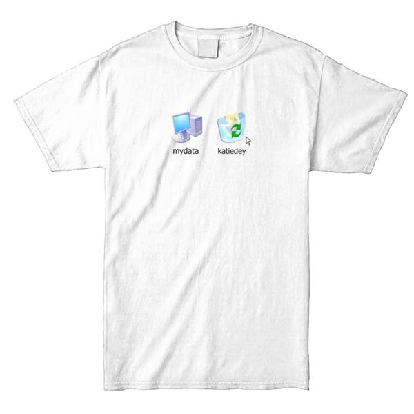 Katie Dey - mydata XP Shirt