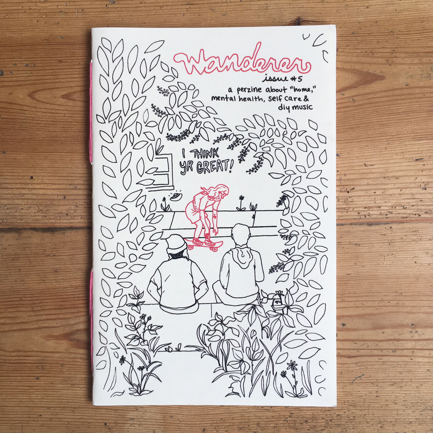 Wanderer, Issues #5 & #6: A Perzine About Home, Mental Health, Self Care & DIY Music