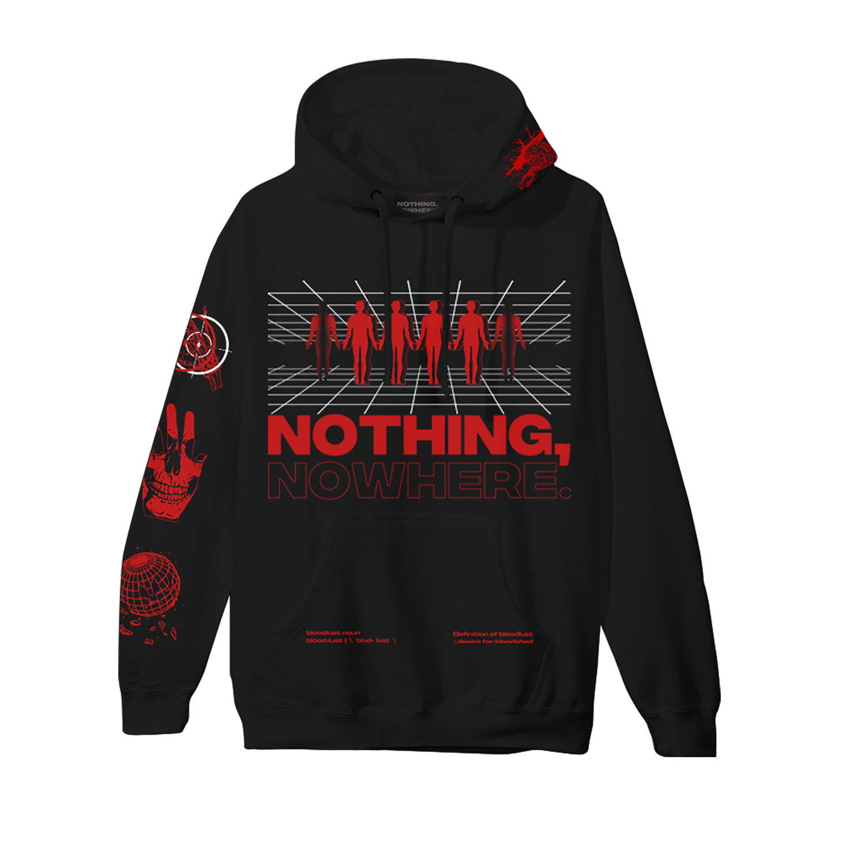 2019 Tour Black Hoodie