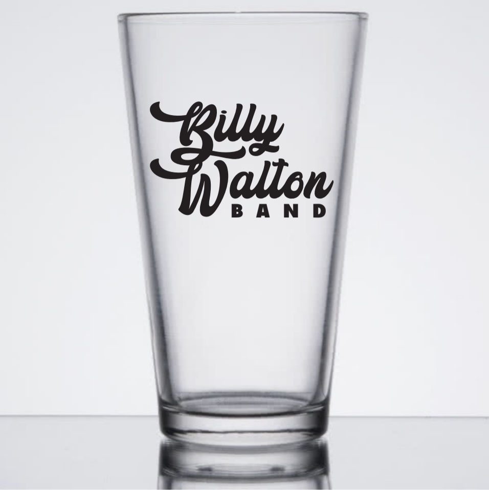 Billy Walton Band Pint Glass
