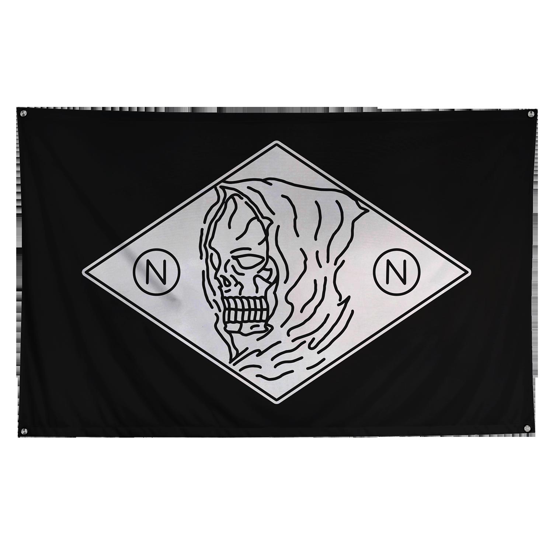 Logo Wall Flag