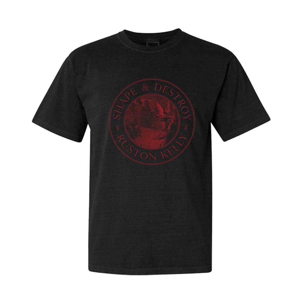 Signed Red Apple Vinyl LP + Tee Shirt + Turntable Mat + Transfer Sticker