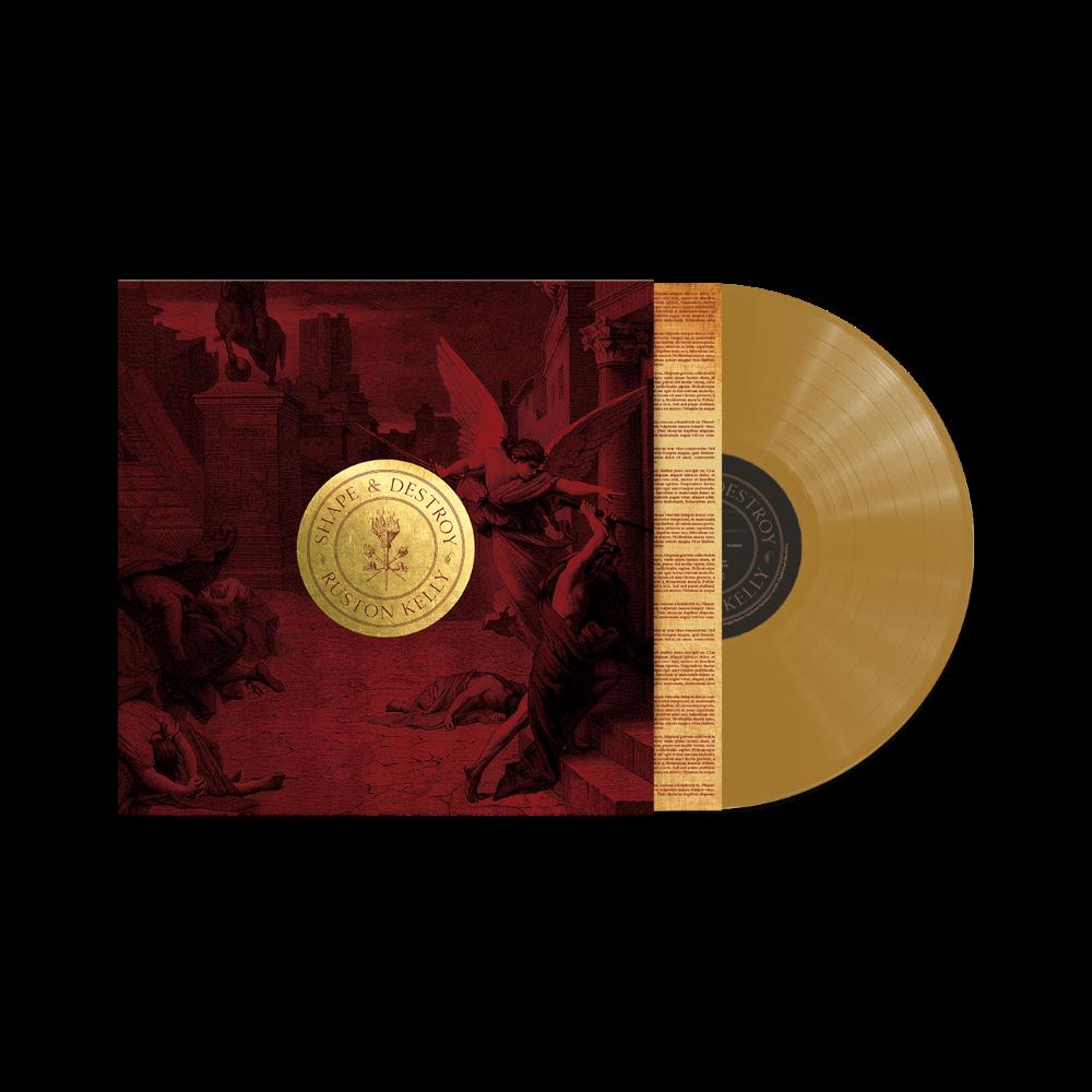 "Shape & Destroy enamel pin set (six) + Backing Card (7.5""x 7.5"") + vinyl/CD/download (optional)"