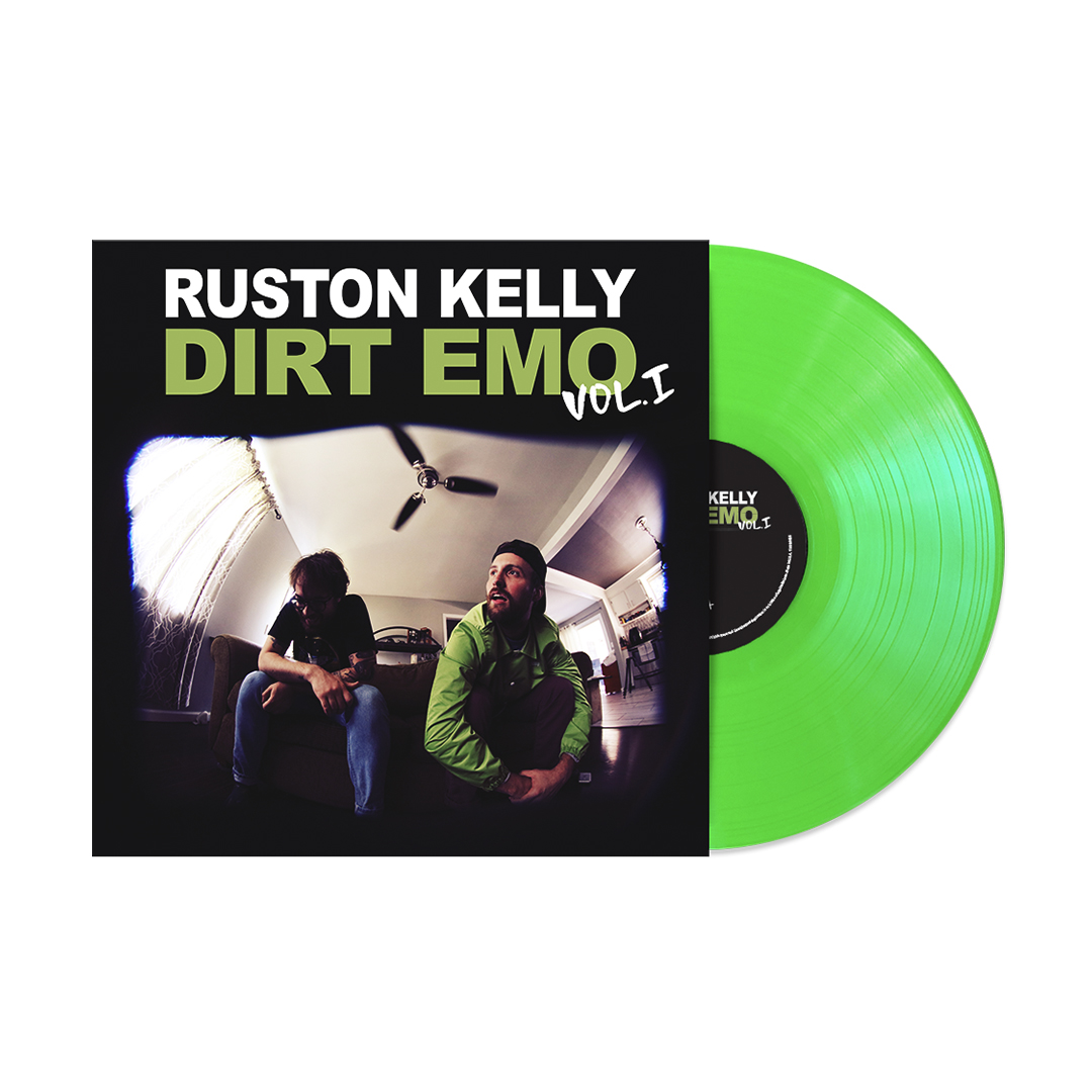 Dirt Emo Hoodie + Tee Shirt + Dirt Emo Vol 1. Neon Green Vinyl or Download (optional)