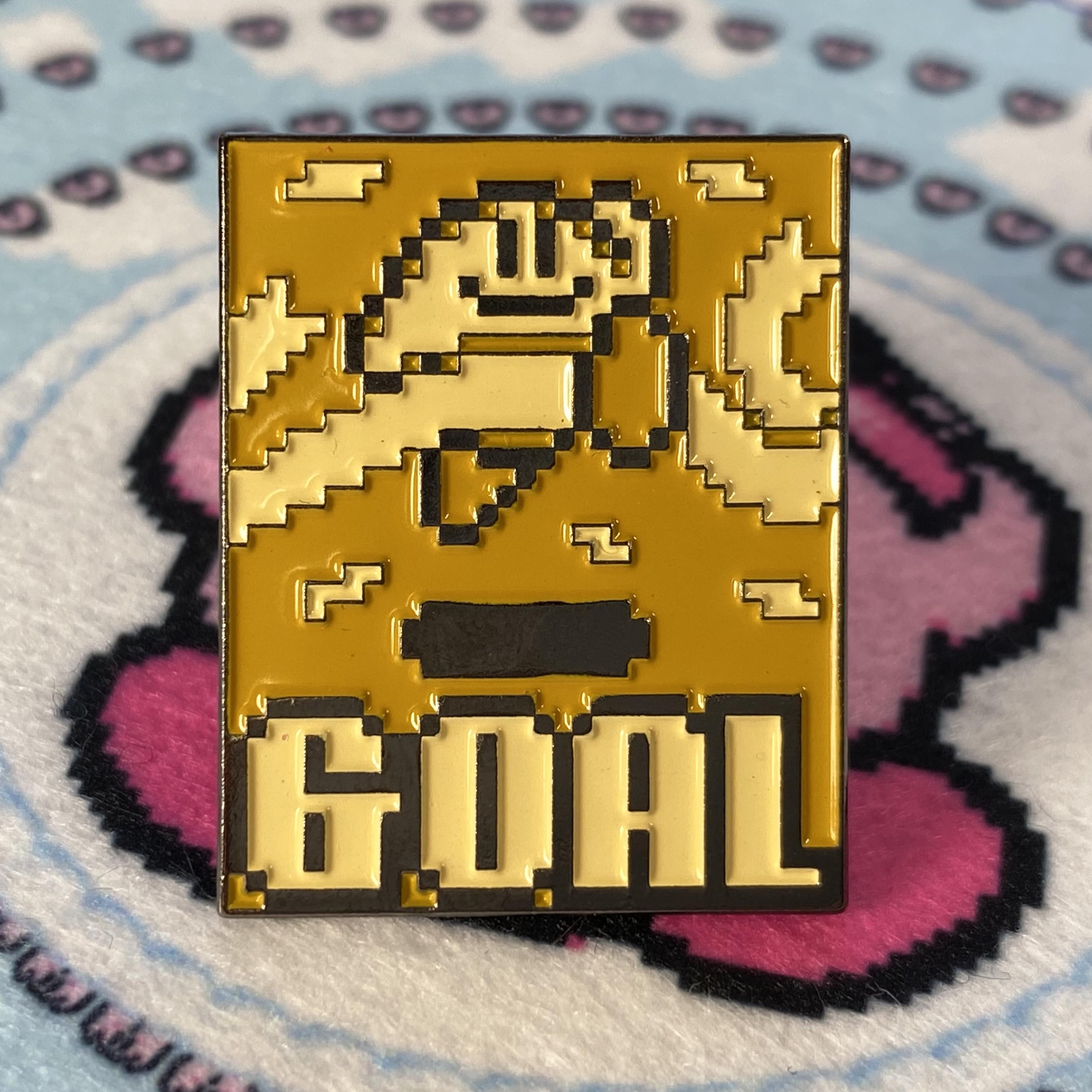 Kirby Goal Pin