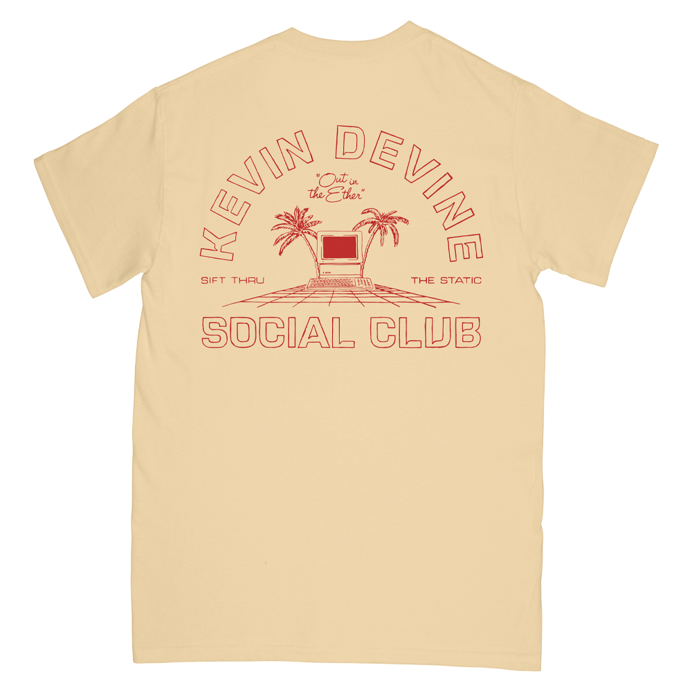 Social Club Tee - Yellow