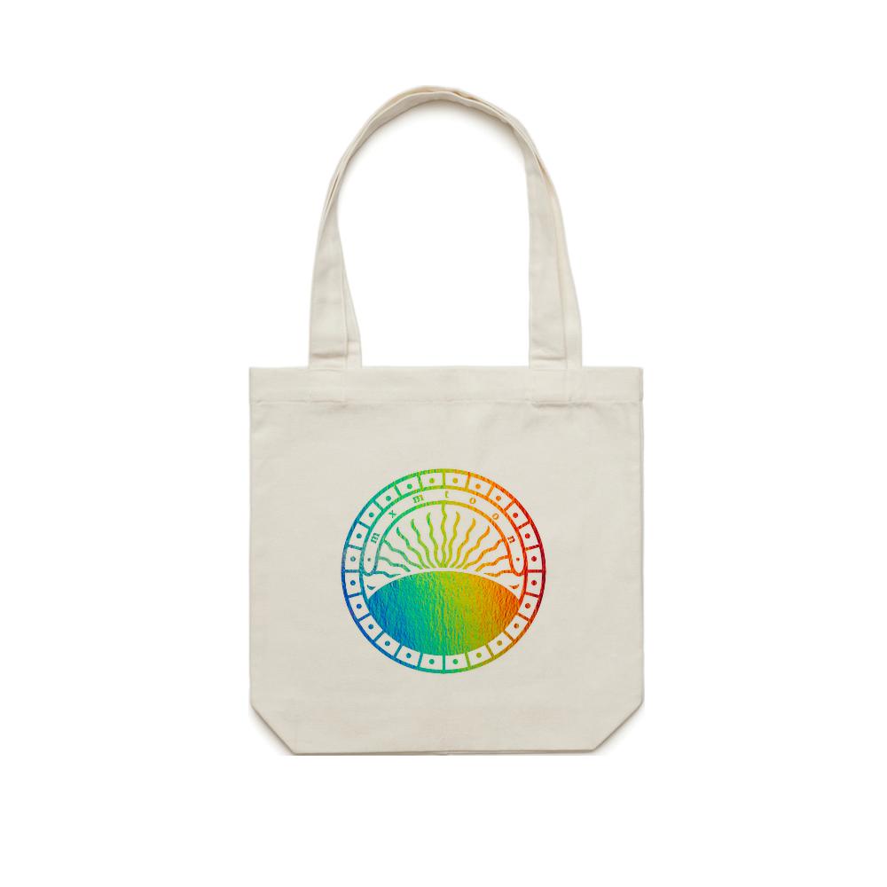 Rainbow Foil Pride Tote