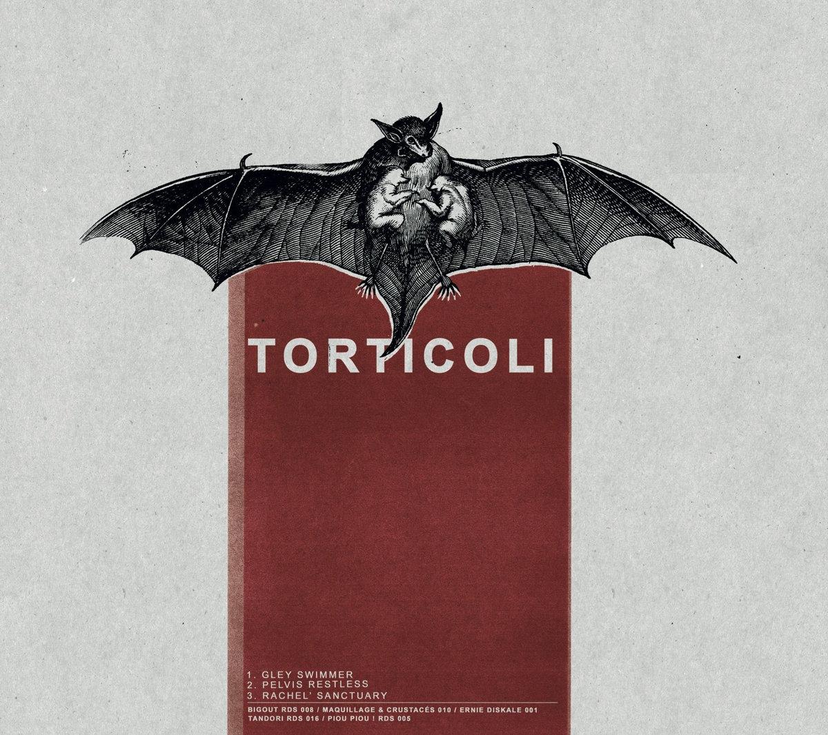 CHEVIGNON + TORTICOLI - Split LP