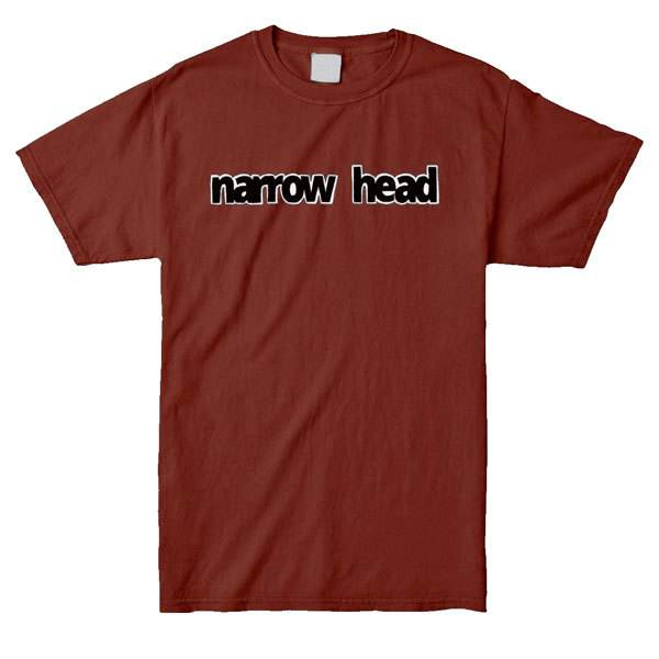 Narrow Head - Hand-Drawn Logo Shirt