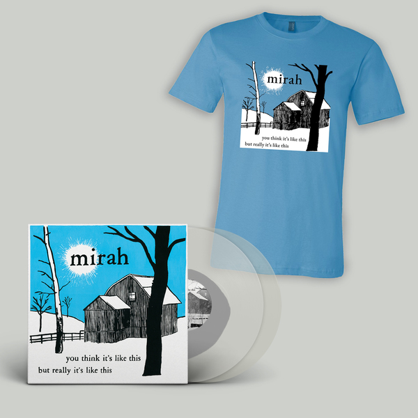 Mirah - You Think / Barn T-Shirt bundle