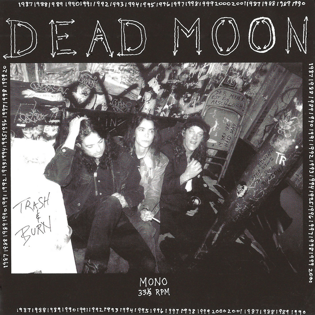 Dead Moon - Trash and Burn LP