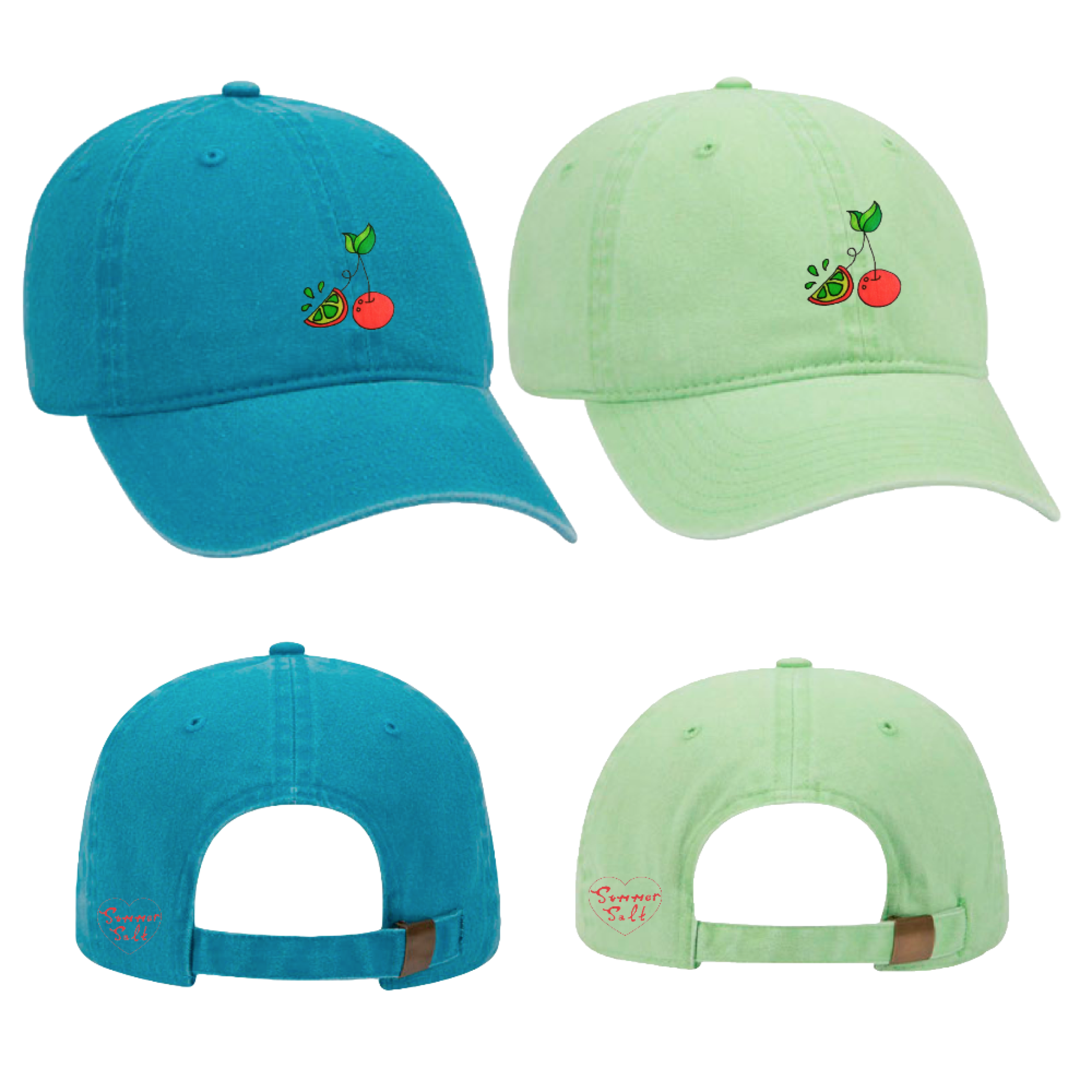 Cherry Lime Hat