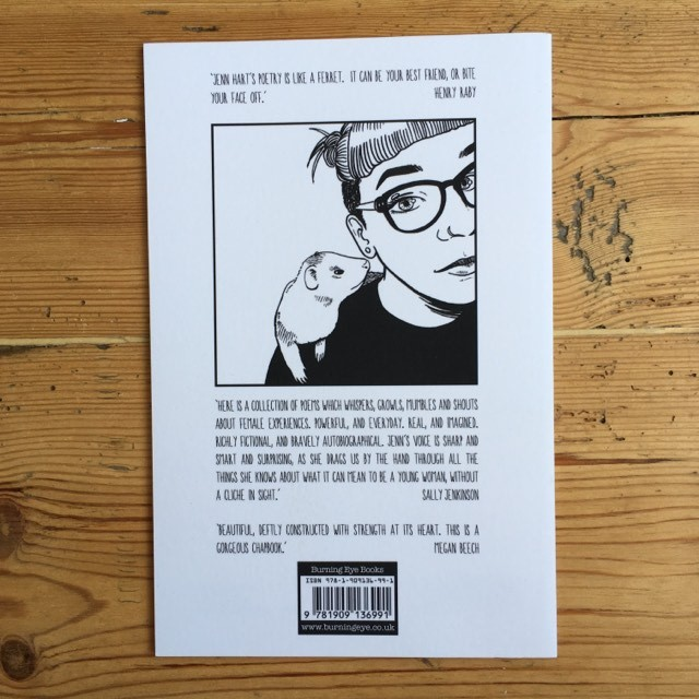 Better Watch Your Mouth - poetry zine by Jenn Hart