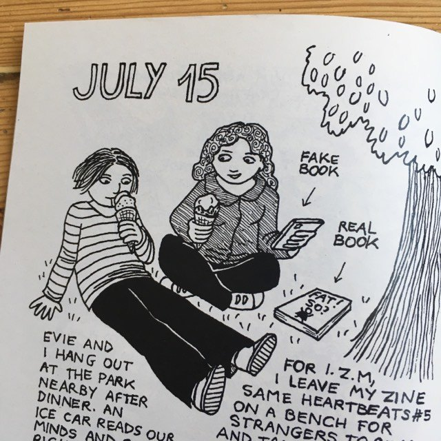 Scissors & Chainsaws - diary comic zine