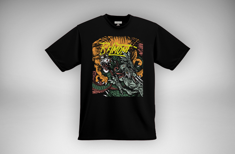 Belmont S/T Album Shirt