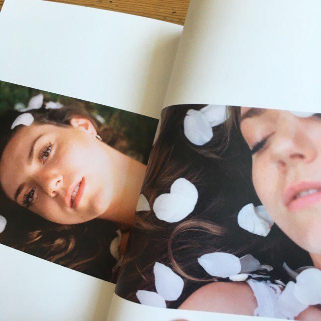 Les Fleurs - floral photography zine