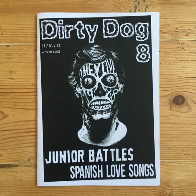 Dirty Dog #8 - punk fanzine