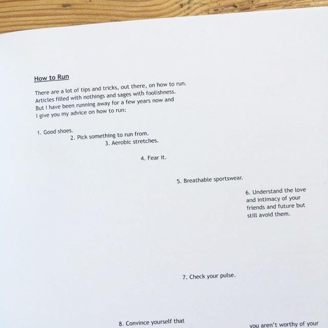 Life in Flatpack - poetry zine by Jacob Mackenzie