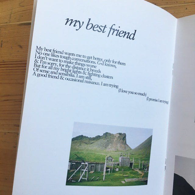 My Spite in Your Hands - poetry zine by Joey Ashworth of itoldyouiwouldeatyou