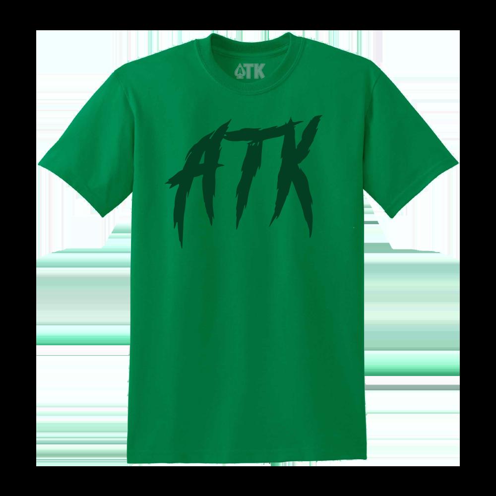 Scratch ATK Tee - Green