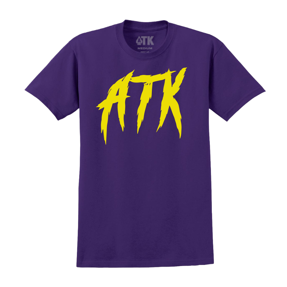 Scratch ATK Tee - Purple