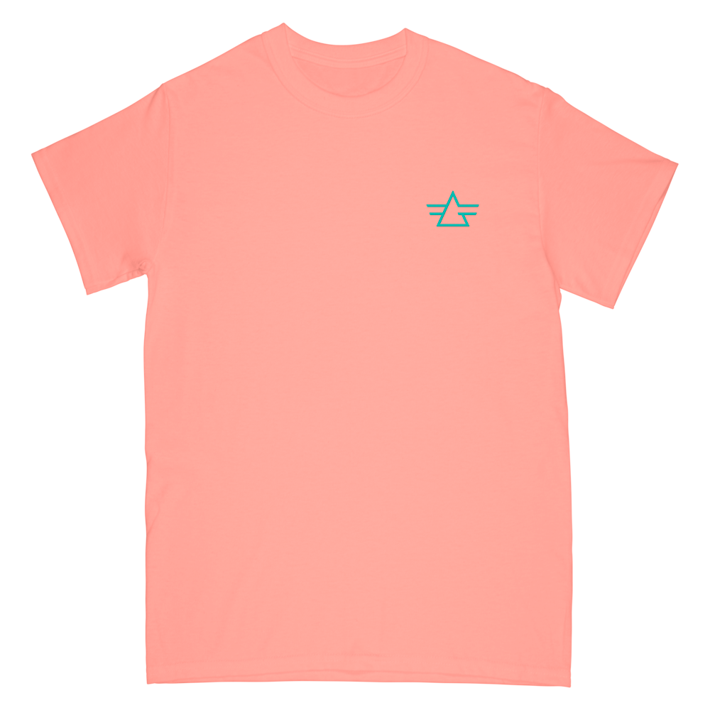 Gryffin Embroidery Logo Tee - Terracotta