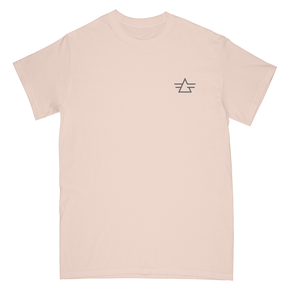Gryffin Embroidery Logo Tee - Ivory