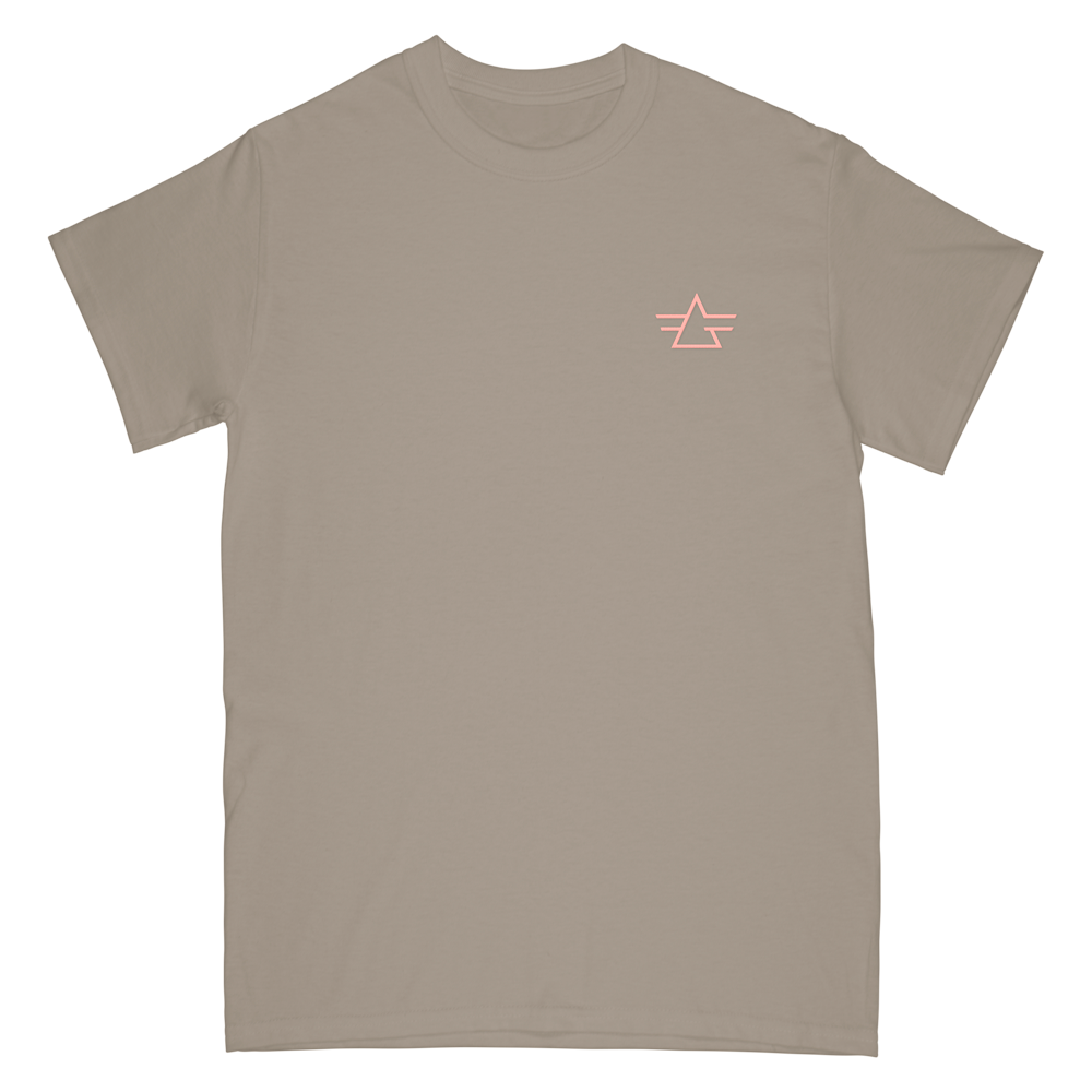 Gryffin Embroidery Logo Tee - Sandstone