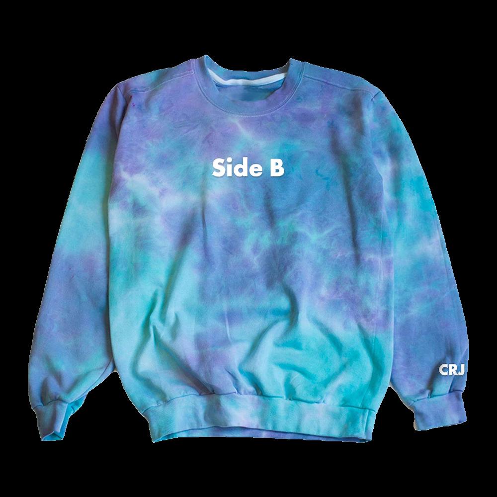 Side B Tie Dye Crewneck