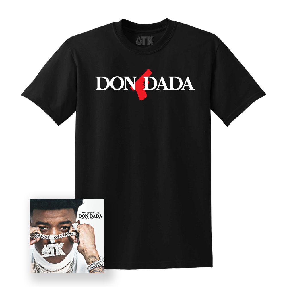 Dona Dada Tee - Black + Digital Album