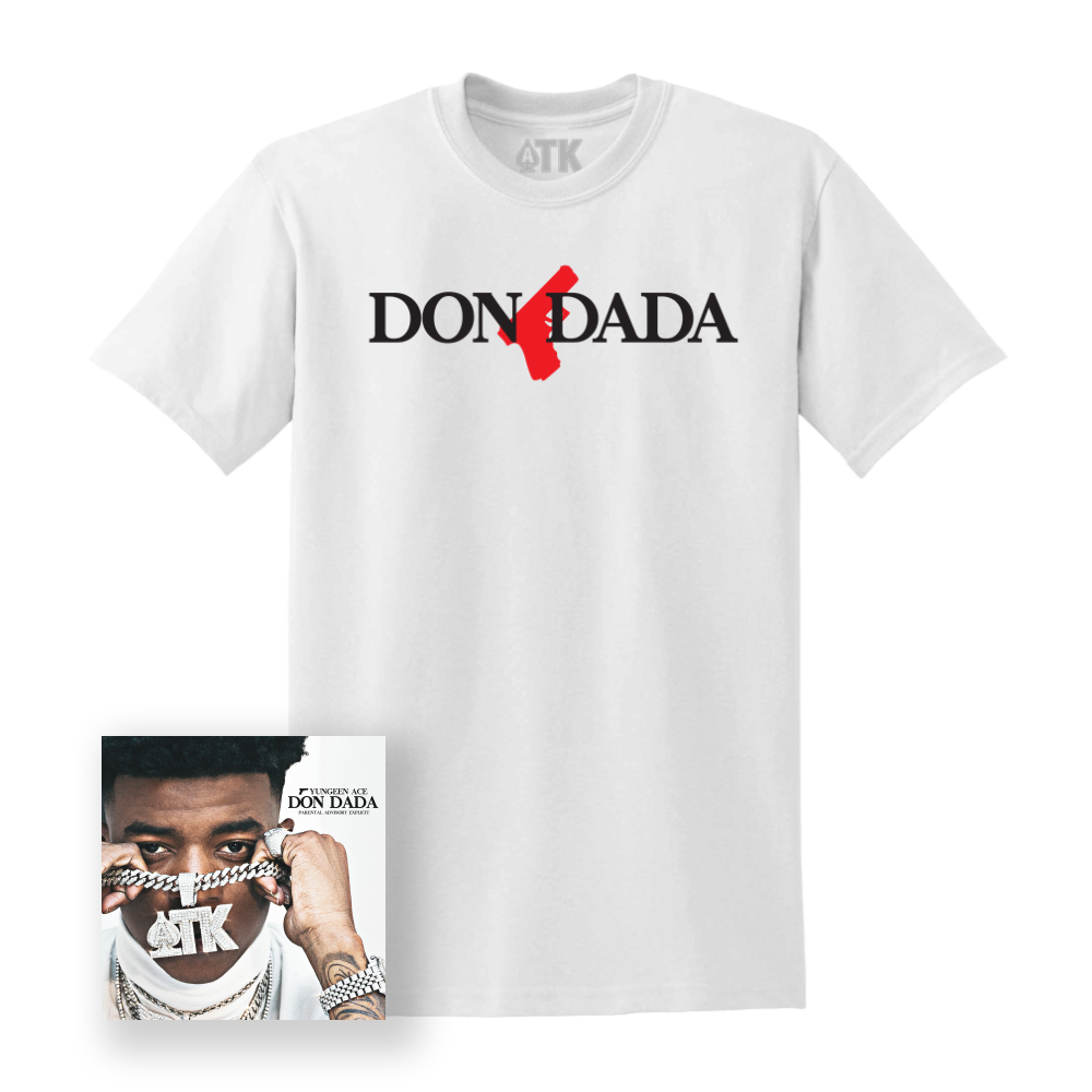 Dona Dada Tee - White + Digital Album