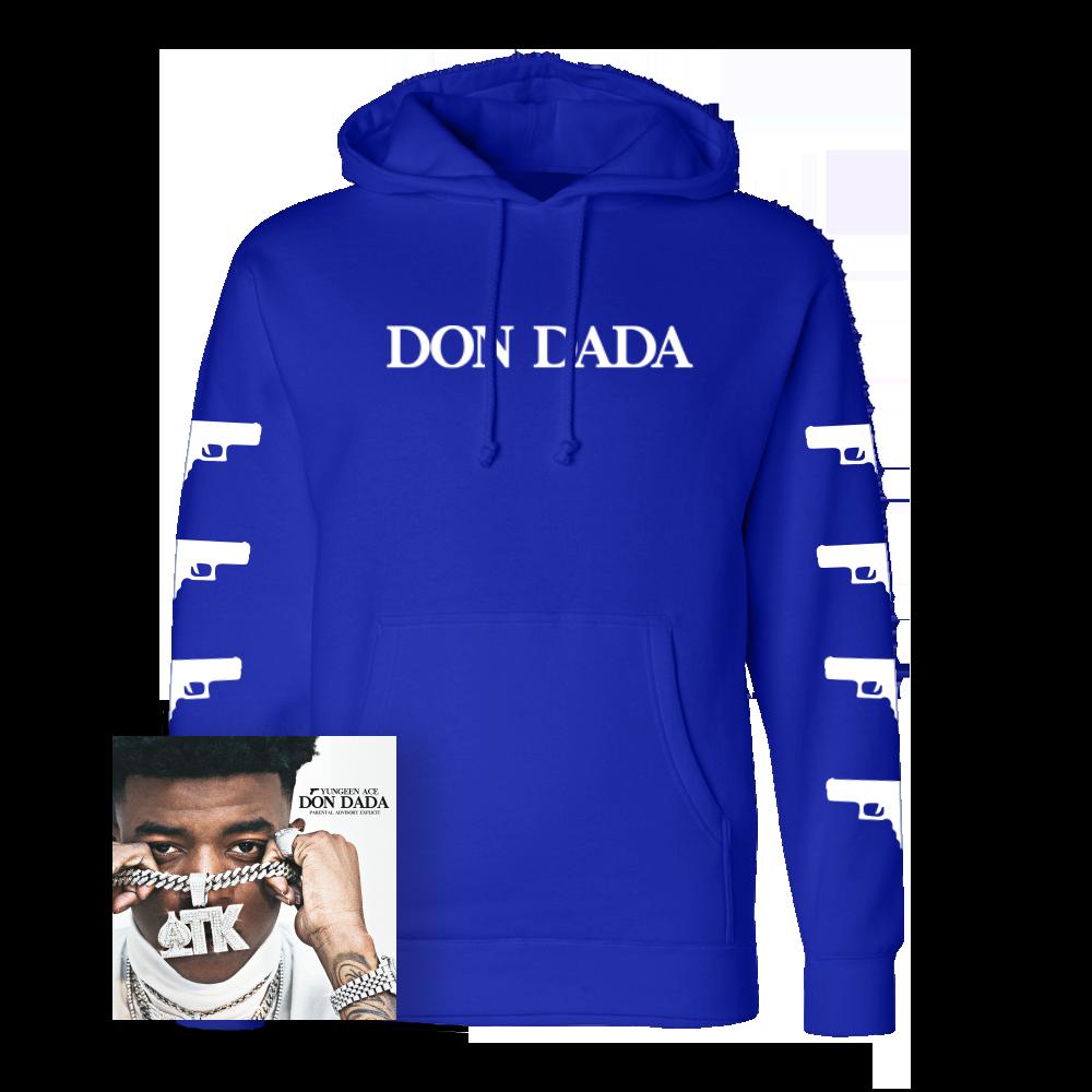 Don Dada Hoodie - Royal + Digital Album