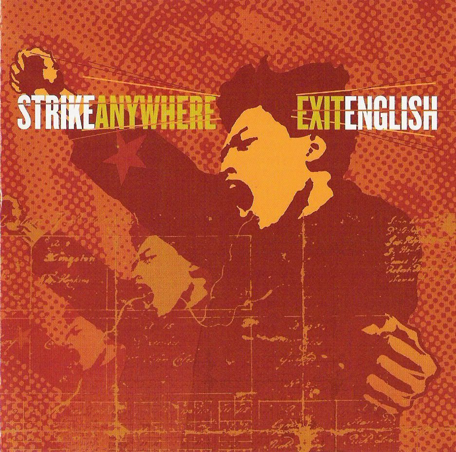 Strike Anywhere - Exit English LP